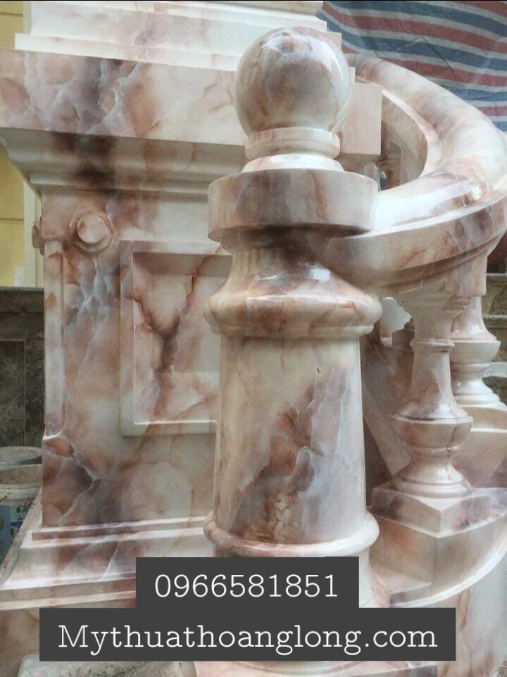 Mẫu sơn giả đá cẩm thạch đẹp