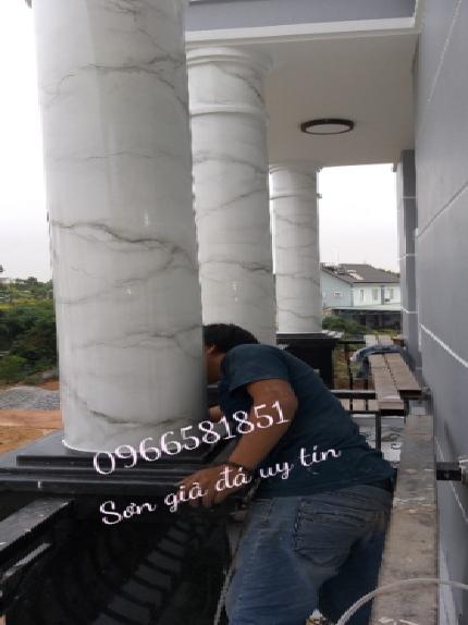 Nhận thi công sơn giả đá tại hà nội