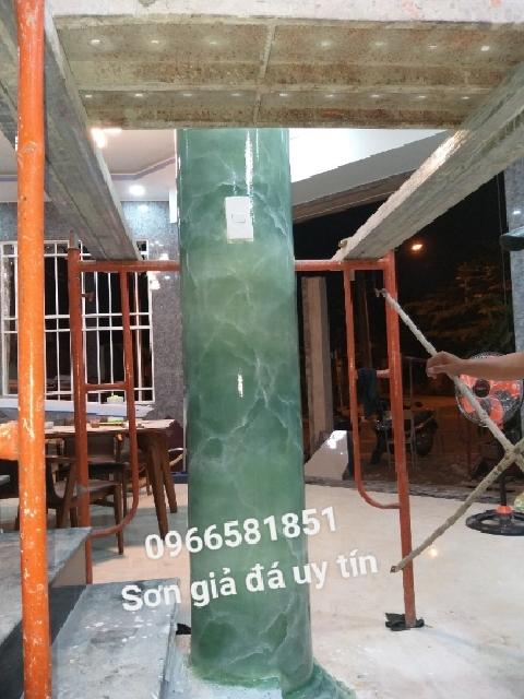 Thi công sơn giả đá tại Long Thành