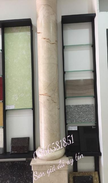 Cột sơn giả đá cẩm thạch