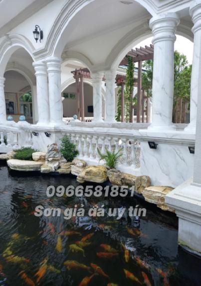 Sơn giả đá tại thành phố Hồ Chí Minh