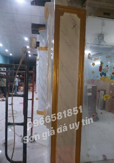 Thi công sơn giả đá tại Long Khánh