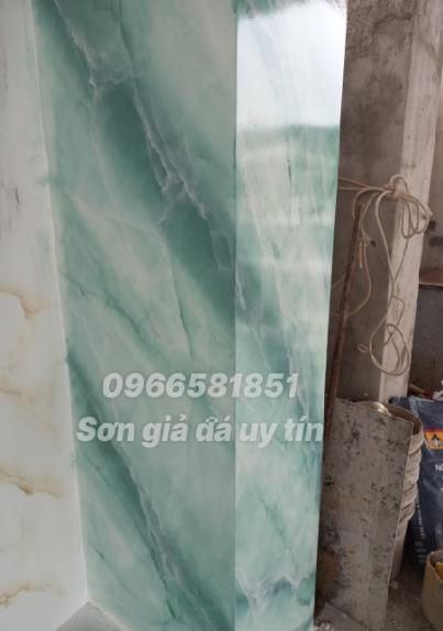 Thi công sơn giả đá ở Tân Uyên