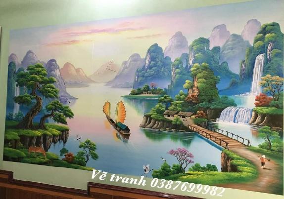 Vẽ tranh tường 3D tại Hà Nội