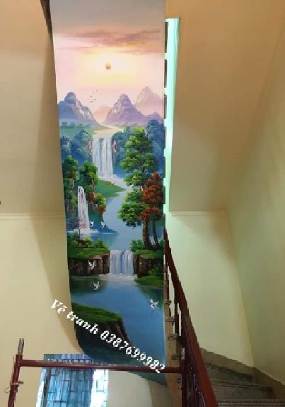 Vẽ tranh tường 3D Hà Nội