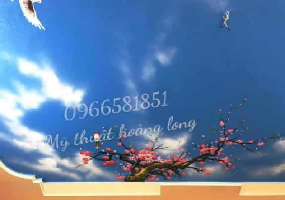Vẽ trần mây 3d