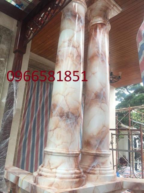 Cột tròn giả đá cẩm thạch