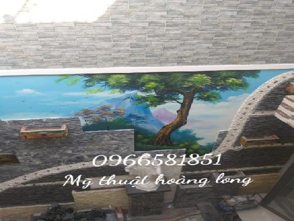 Vẽ tranh tường tại cần thơ