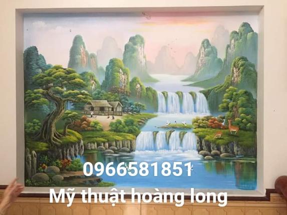 Vẽ tranh tường 3d long an